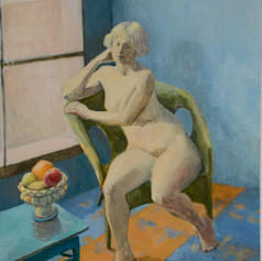 Anna by the Window. 2011, Oil on Canvas,