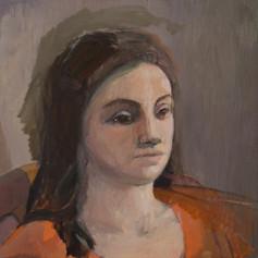 Tamar, 2017, Oil on canvas, 40x40 cm.jpe