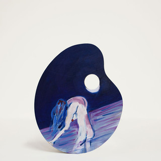night-swimmers-series-_oil-on-cutting-bo