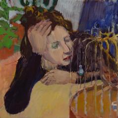 The Birdcage. 2012, Oil on canvas, 20x40