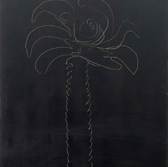 Black Palm Tree, 2012, oil on canvas, 60