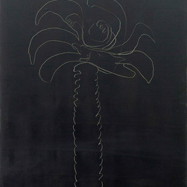 Black Palm Tree, 2012, oil on canvas, 60