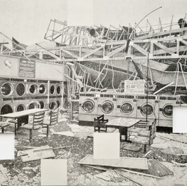 Amir Tomashov, 68 seconds | location no.3,  graphite on paper, 2020, 50x35cm