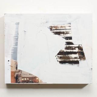"Untitled,_Mixed_media_on_wood_panel,_16"""