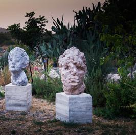 Outdoors sculptures I