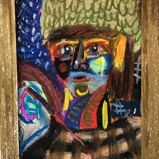 Galia Pasternak, The Artist, 2020