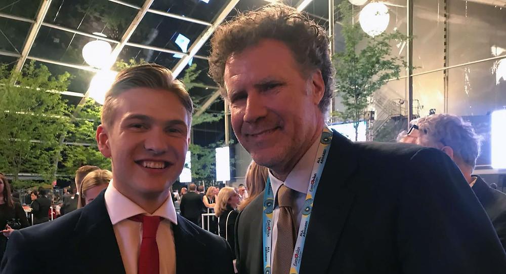 Will Ferrell & Ari Ólafsson