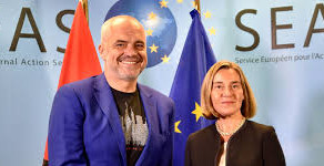 Përfaqsuesja e lartë e Bashkimit Evropian; jeni intergruar, keni tre shqiptarë në Eurovision