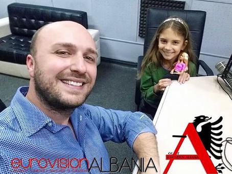 Gjithçka Shqip:Andri flet me përfaqësuesen eShqipërisë në Junior ESC 2017,Ana Kodra