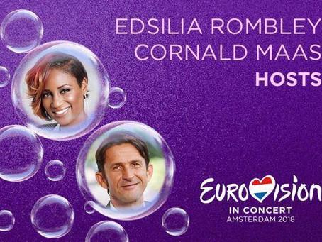 """Zbulohen emrat e prezantuesve të koncertit promovues """"Eurovision in Concert 2018"""""""