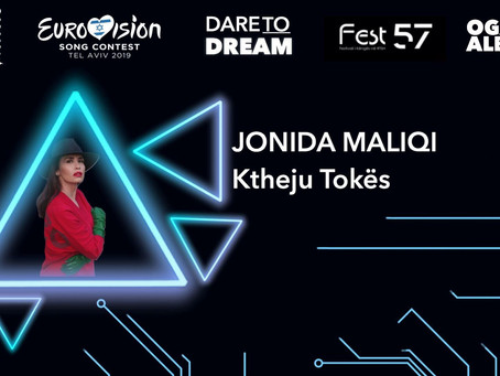 Jonida Maliqi wins FiK 57 and gets the ticket for Tel Aviv