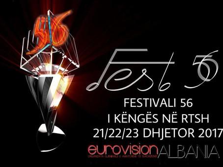 Fest 56 - 21,22,23 Dhjetor 2017