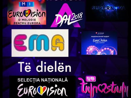 Superfundjava e Eurovizionit: Moldavia, Hungaria, Letonia, Sllovenia, Ukraina, Armenia & Rumania