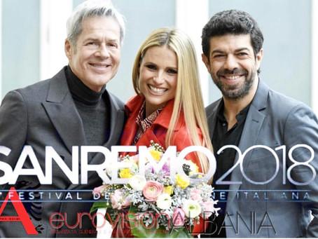 20 këngë në konkurrim për trofeun e Sanremo 2018