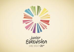 Shine Bright  - Logo Zyrtare e JESC 2017