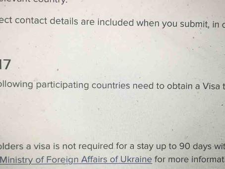 Ukrainë, pasaportat e Shqipërisë pa vizë pas datës 01 Prill 2017