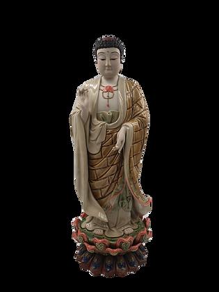 Buddha on Lotus Flower 佛像
