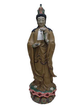 Guanyin on Lotus Flower 观音