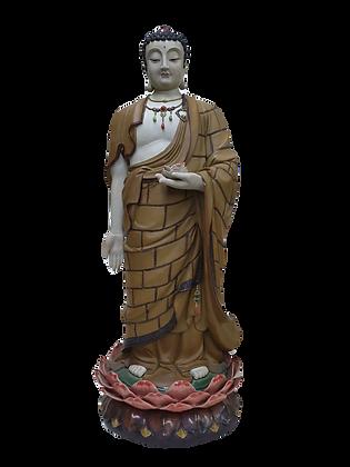 Buddha with Lotus Flower 佛像