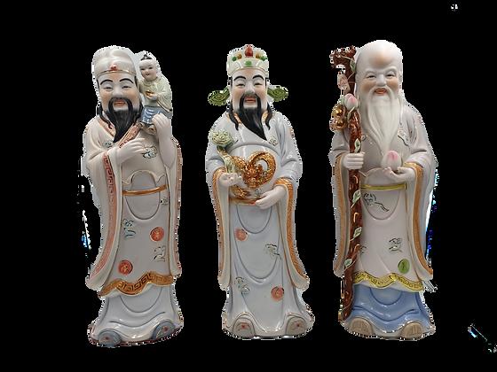 Fu Lu Shou Deities 福禄寿