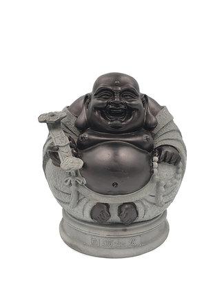 Stone Laughing Buddha