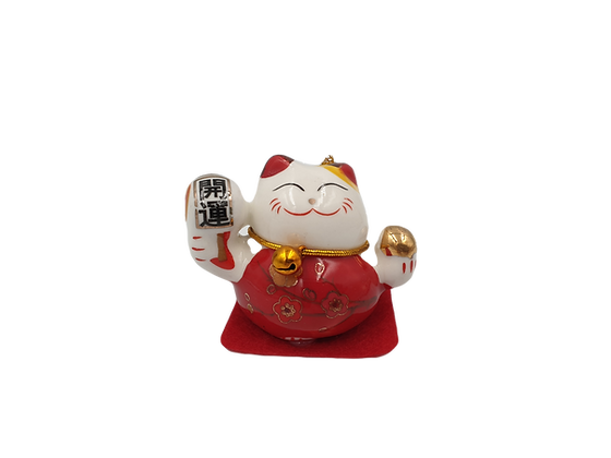 Fortune Cat Red