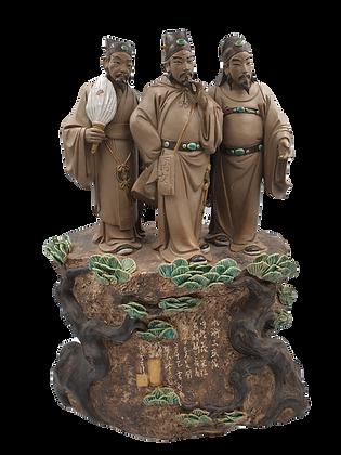 Three Scholars