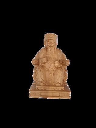 Wooden Tu Di Gong