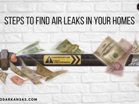 Steps to Find Air Leaks in Your Homes
