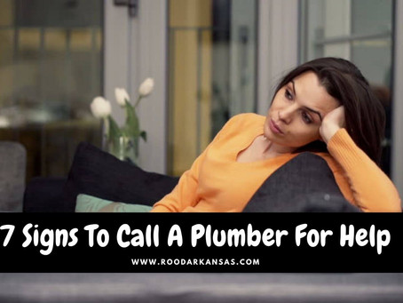 7 Signs To Call A Plumber For Help
