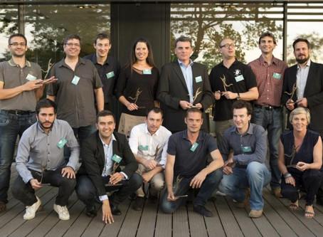 Les lauréats 2015 du Réseau Entreprendre Loire