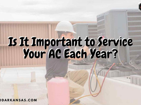 Is It Important to Service Your AC Each Year