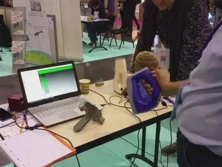 Un scan 3D made in Loire présenté au CES 217