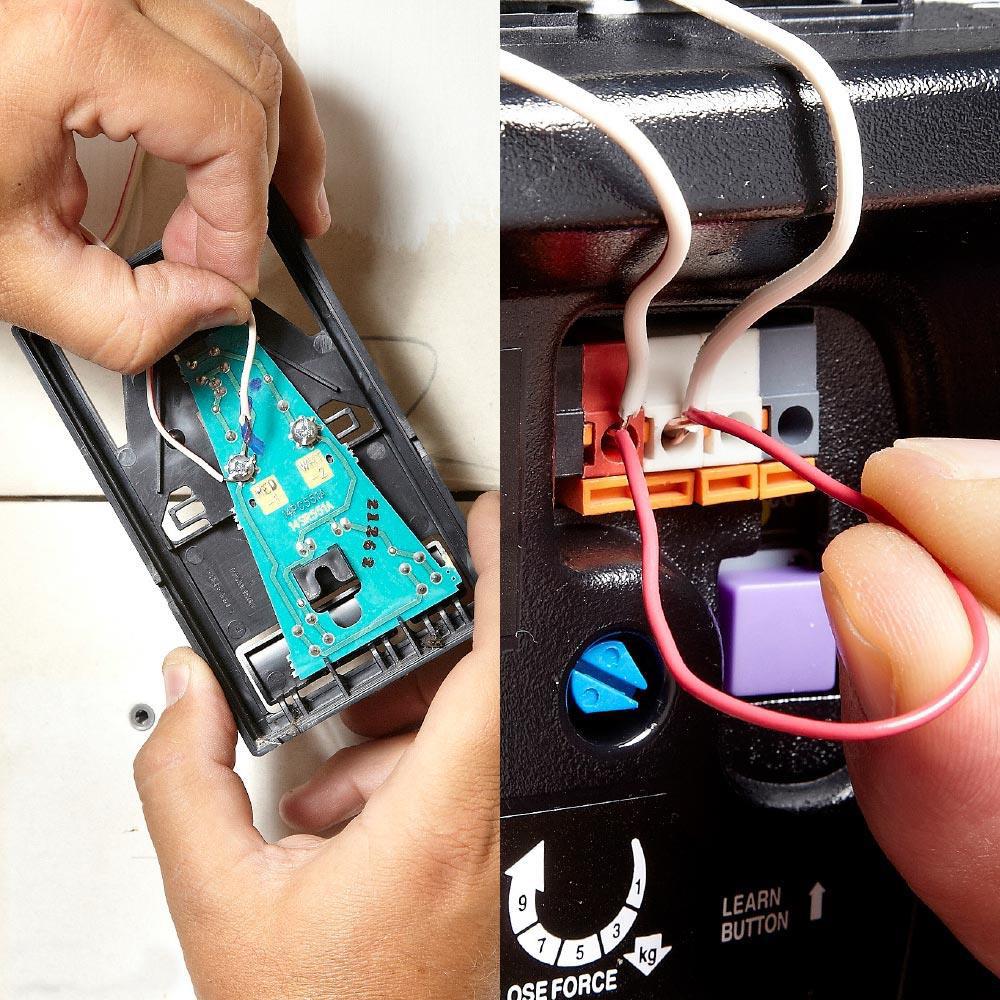 Garage door Opener Switch Fix