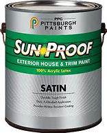 Exterior House and Trim Latex Acrylic Paint