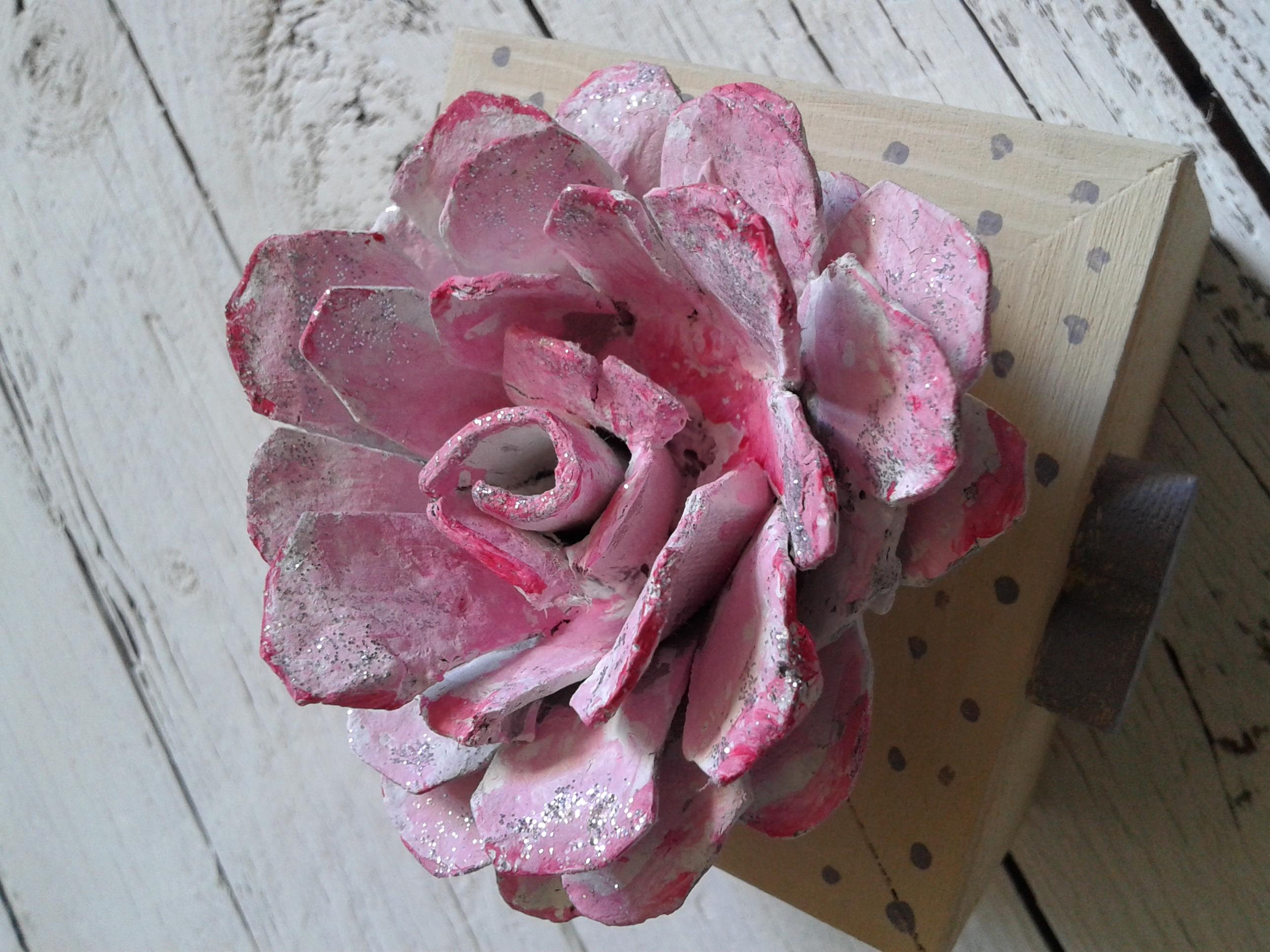 Bomboniera fiore carta