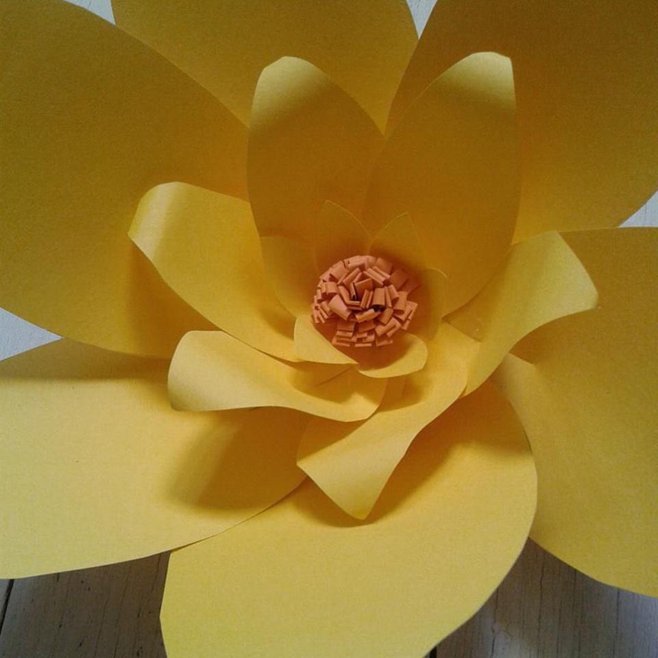 fiore di carta decorazione festa