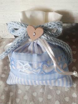 bomboniera fiocco tricotin