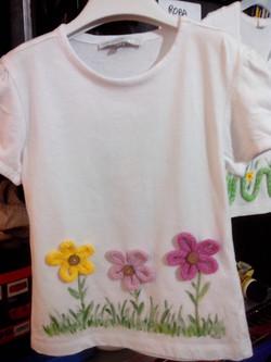 maglietta fiori