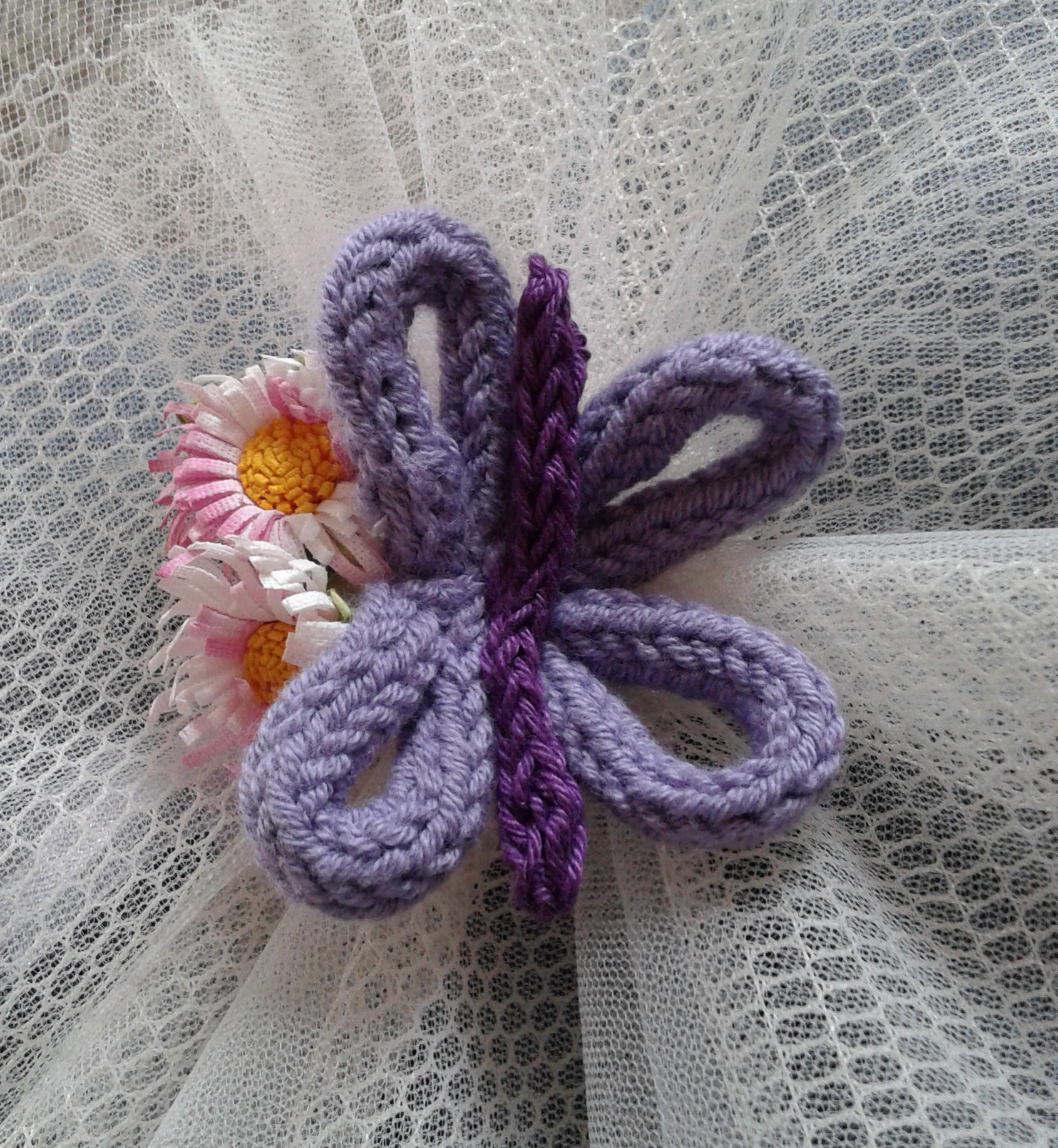bomboniera farfalla tricotin