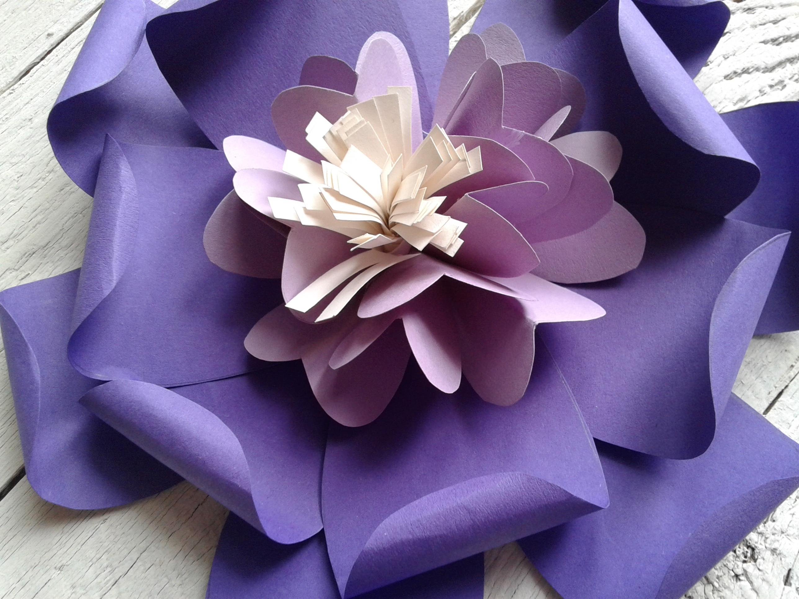 fiore di carta matrimonio