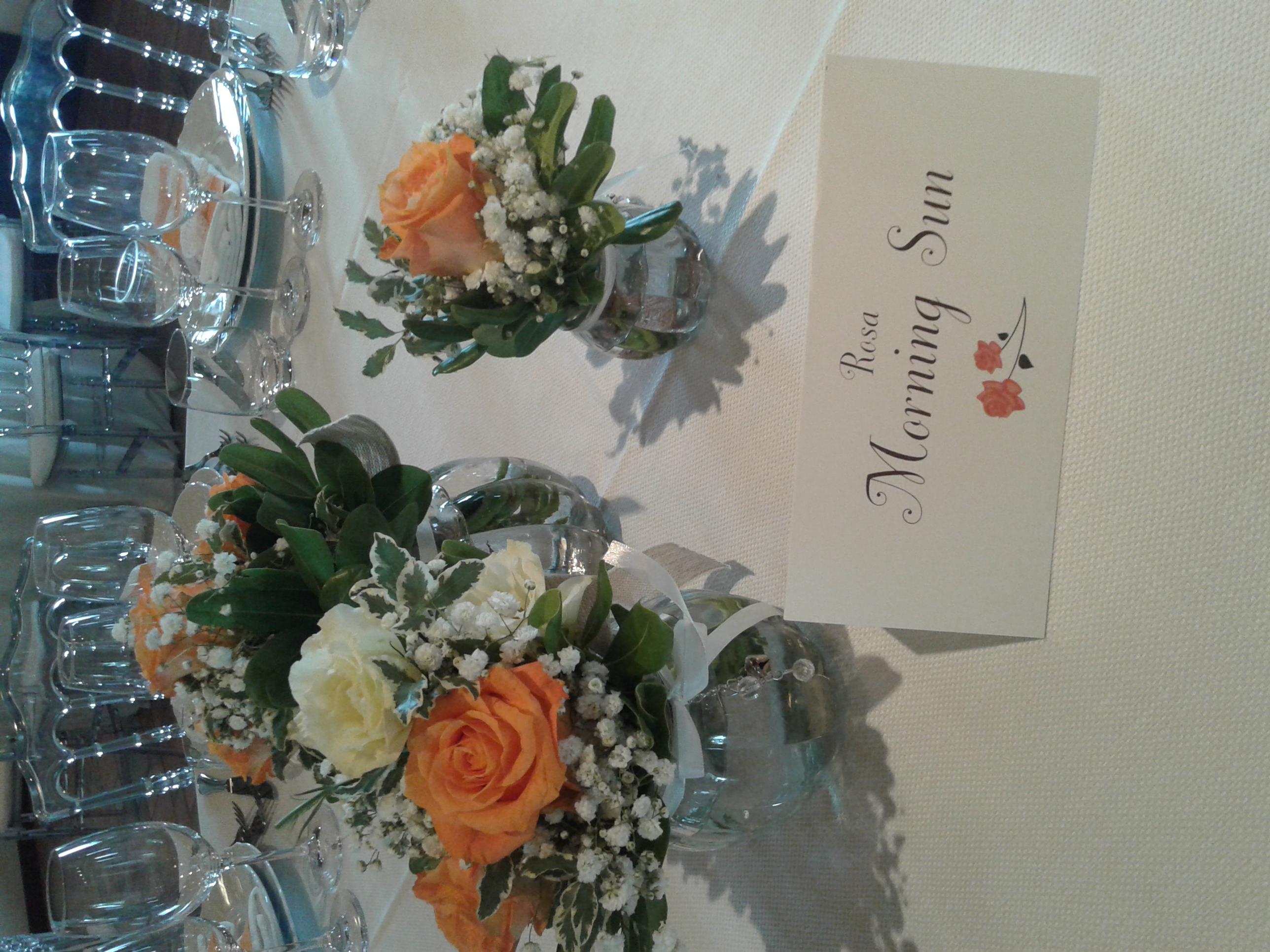 nome tavolo matrimonio