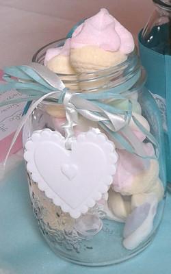 particolare vaso porta caramelle