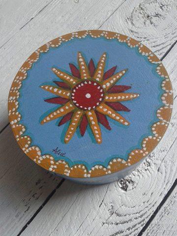Bomboniera scatola dipinta