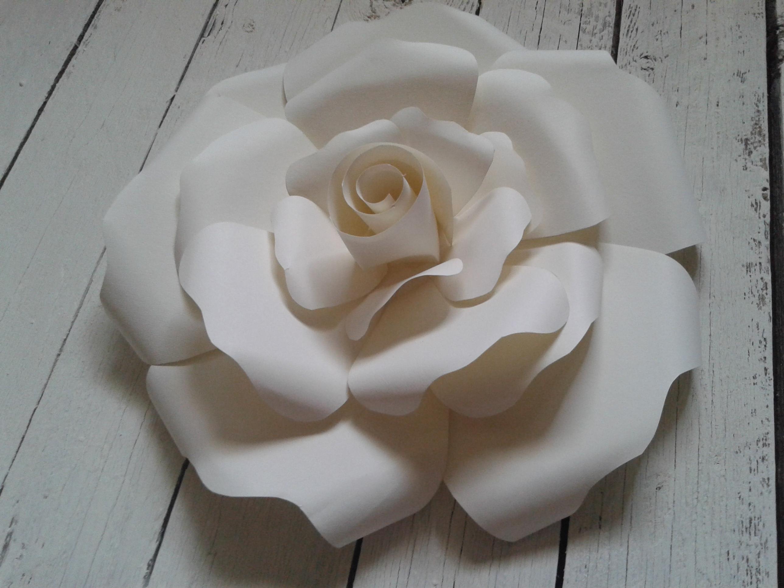 rosa di carta per matrimonio