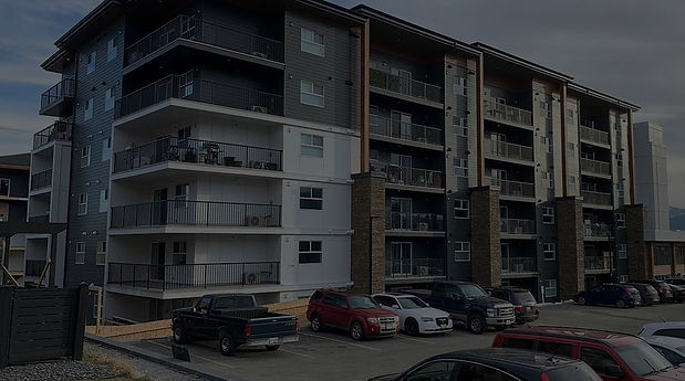 Impact Drywall's Residential and Commercial Lakeview Pointe Project in Kelowna, British Columbia