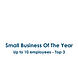 Small Business Of The Year Winner Logo