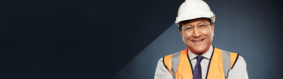 Impact Drywall Happy Construction Employee