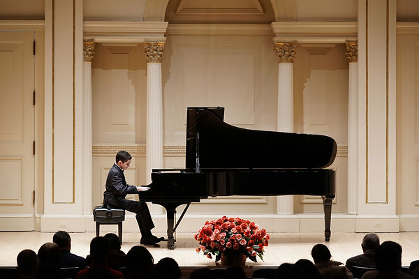 Performing at Carnegie Hall