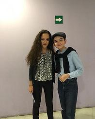 With Pianist Lily Maisky... #LilyMaisky